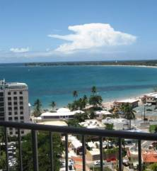 LAST-MINUTE DEAL BEACHFRONT STUDIO HI FLOOR GREAT OCEAN VIEW! (Isla Verde-San Juan)