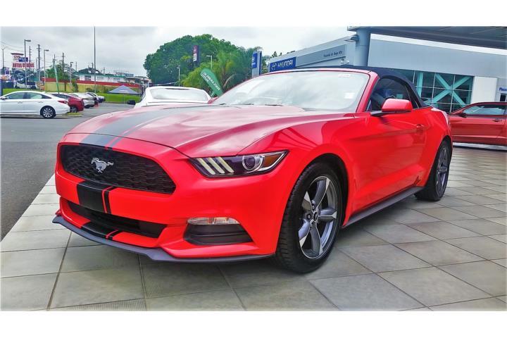 2015 FORD MUSTANG V6 Convertible , Ford – Mustang Año 2015, $32,995 , NUEVO,NUEVO, POCO MILLAJE