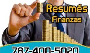 Resumés para Expertos en Finanzas