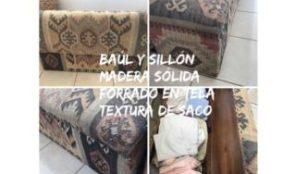 Baúl, sillón y organizador a la vez